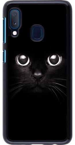 Coque Samsung Galaxy A20e - Cat eyes