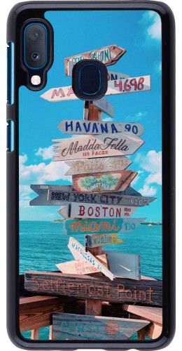 Coque Samsung Galaxy A20e - Cool Cities Directions