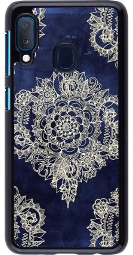 Coque Samsung Galaxy A20e - Cream Flower Moroccan