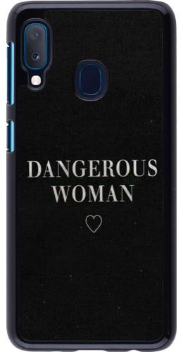 Coque Samsung Galaxy A20e - Dangerous woman
