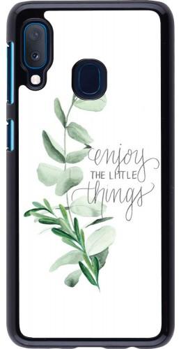 Coque Samsung Galaxy A20e - Enjoy the little things
