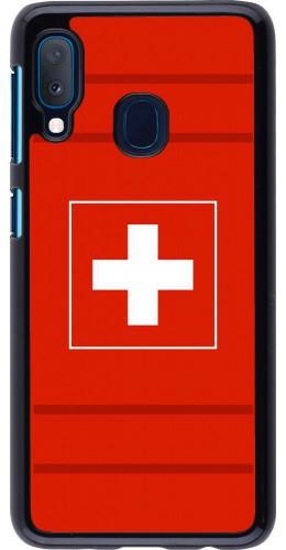 Coque Samsung Galaxy A20e - Euro 2020 Switzerland
