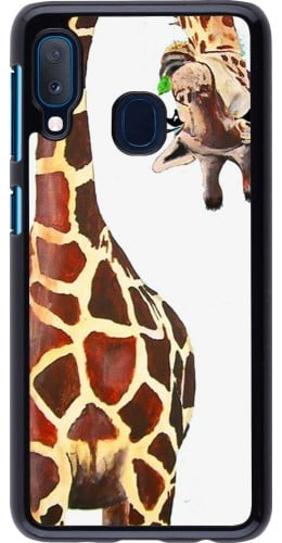 Coque Samsung Galaxy A20e - Giraffe Fit