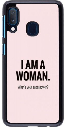 Coque Samsung Galaxy A20e - I am a woman
