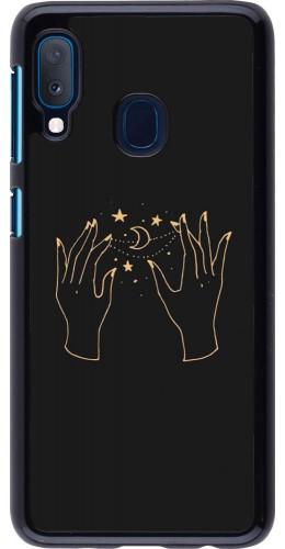 Coque Samsung Galaxy A20e - Grey magic hands