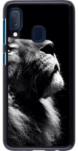 Coque Samsung Galaxy A20e - Lion looking up