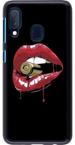 Coque Samsung Galaxy A20e - Lips bullet