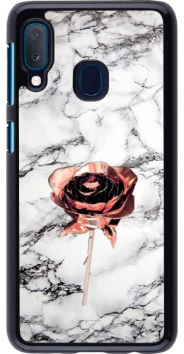 Coque Samsung Galaxy A20e - Marble Rose Gold