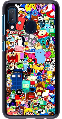 Coque Samsung Galaxy A20e - Mixed cartoons