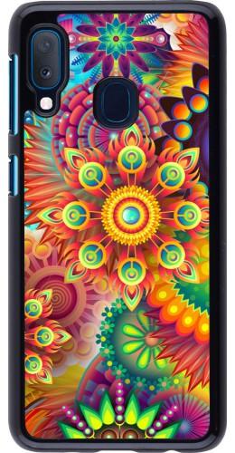 Coque Samsung Galaxy A20e - Multicolor aztec