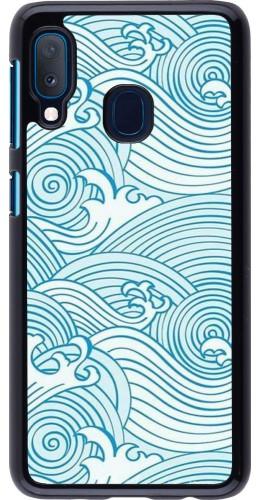 Coque Samsung Galaxy A20e - Ocean Waves