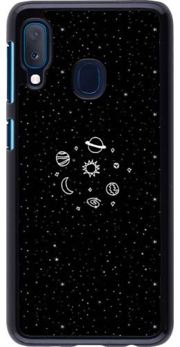 Coque Samsung Galaxy A20e - Space Doodle