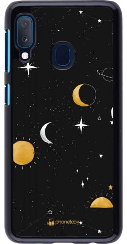 Coque Samsung Galaxy A20e - Space Vector