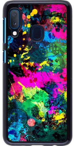 Coque Samsung Galaxy A20e - splash paint