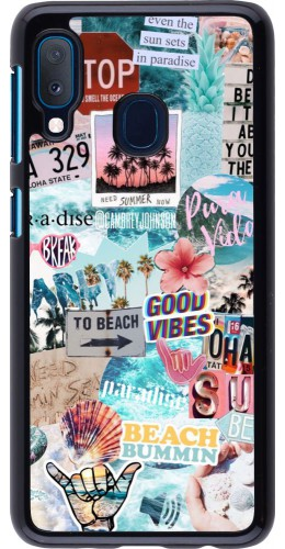 Coque Samsung Galaxy A20e - Summer 20 collage