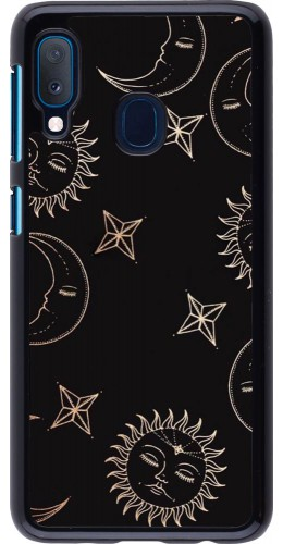 Coque Samsung Galaxy A20e - Suns and Moons