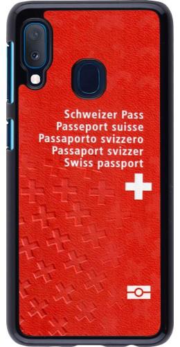 Coque Samsung Galaxy A20e - Swiss Passport