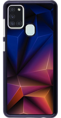 Coque Samsung Galaxy A21s - Abstract Triangles