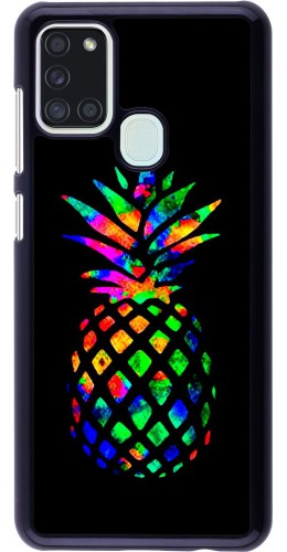 Coque Samsung Galaxy A21s - Ananas Multi-colors
