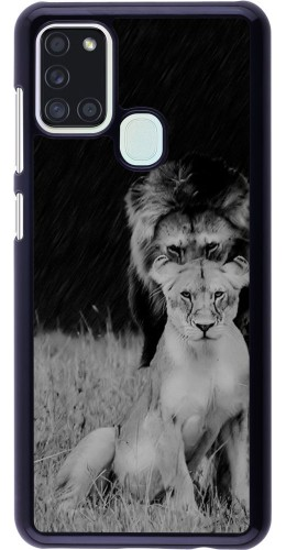 Coque Samsung Galaxy A21s - Angry lions