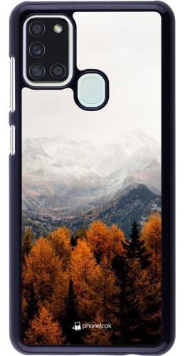 Coque Samsung Galaxy A21s - Autumn 21 Forest Mountain