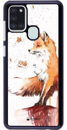 Coque Samsung Galaxy A21s - Autumn 21 Fox