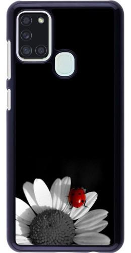Coque Samsung Galaxy A21s - Black and white Cox
