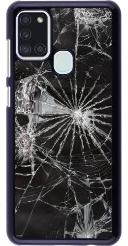 Coque Samsung Galaxy A21s - Broken Screen