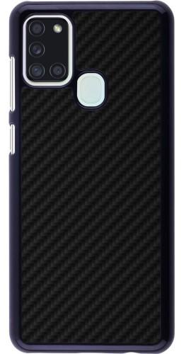 Coque Samsung Galaxy A21s - Carbon Basic