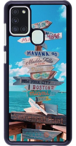 Coque Samsung Galaxy A21s - Cool Cities Directions