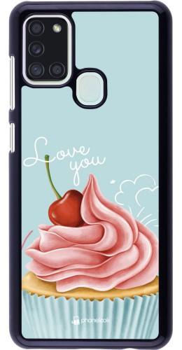 Coque Samsung Galaxy A21s - Cupcake Love You