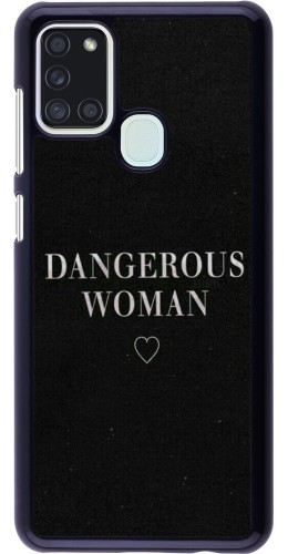 Coque Samsung Galaxy A21s - Dangerous woman