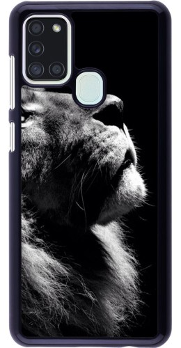 Coque Samsung Galaxy A21s - Lion looking up