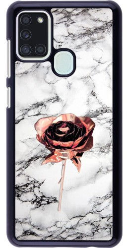 Coque Samsung Galaxy A21s - Marble Rose Gold