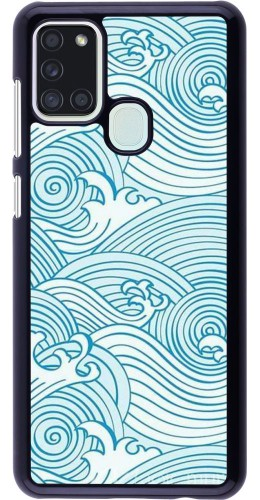 Coque Samsung Galaxy A21s - Ocean Waves
