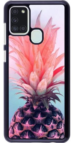 Coque Samsung Galaxy A21s - Purple Pink Pineapple
