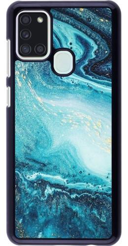 Coque Samsung Galaxy A21s - Sea Foam Blue