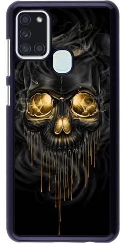 Coque Samsung Galaxy A21s - Skull 02