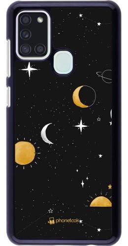 Coque Samsung Galaxy A21s - Space Vector