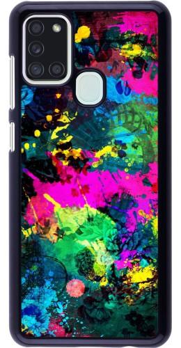 Coque Samsung Galaxy A21s - splash paint