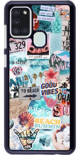 Coque Samsung Galaxy A21s - Summer 20 collage