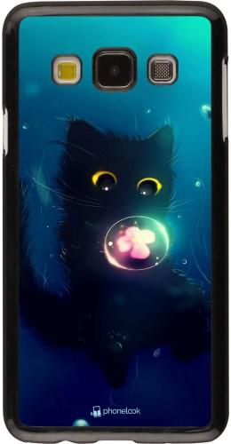 Coque Samsung Galaxy A3 (2015) - Cute Cat Bubble
