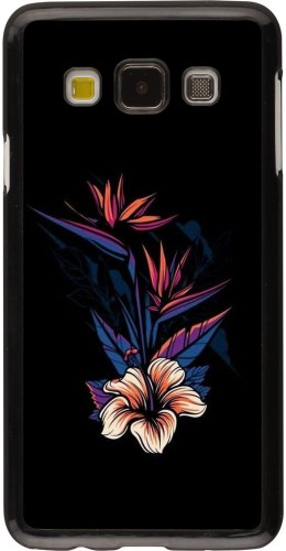 Coque Samsung Galaxy A3 (2015) - Dark Flowers