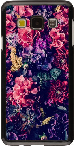 Coque Samsung Galaxy A3 - Flowers Dark