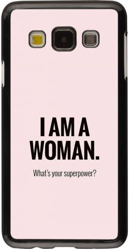 Coque Samsung Galaxy A3 (2015) - I am a woman