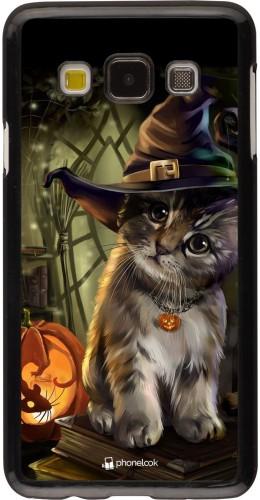 Coque Samsung Galaxy A3 (2015) - Halloween 21 Witch cat