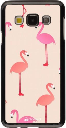 Coque Samsung Galaxy A3 (2015) - Pink Flamingos Pattern