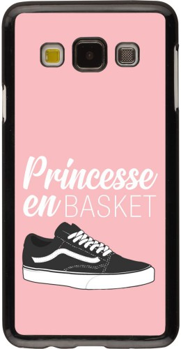 Coque Samsung Galaxy A3 (2015) - princesse en basket