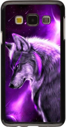 Coque Samsung Galaxy A3 (2015) - Purple Sky Wolf
