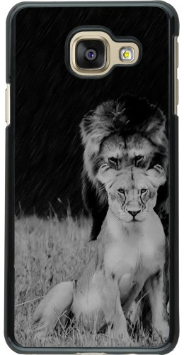 Coque Galaxy A3 (2016) - Angry lions